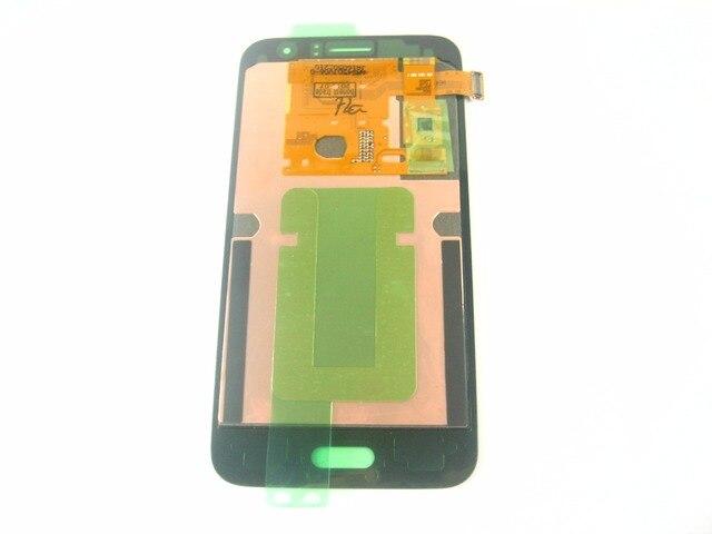 Замена Полный ЖК-Дисплей + Сенсорный Экран Digitizer для Samsung Galaxy J1 (2016) Sm-j120 Белый