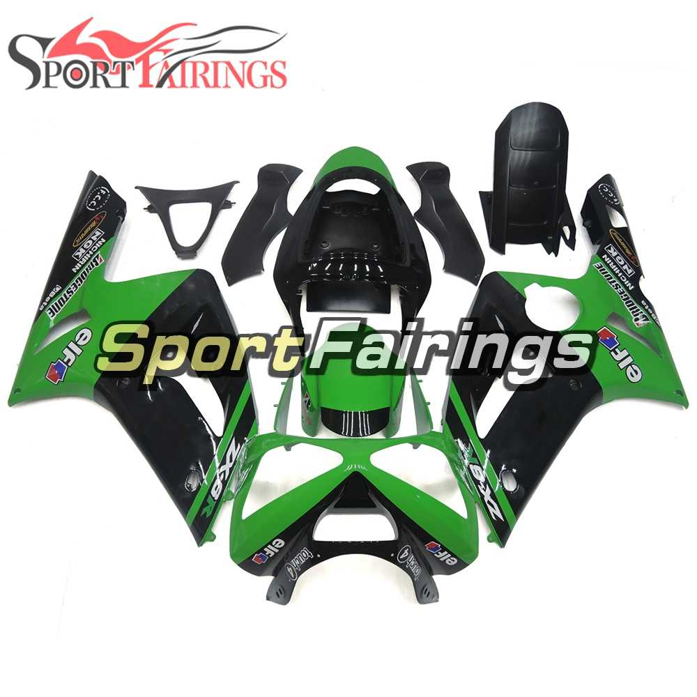 hight resolution of complete fairings for kawasaki zx6r zx 6r ninja 636 03 04 2003 2004 motorcycle fairing