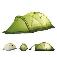 Профессиональный Stormproof Зонтик Зимняя Палатка 2 Человек Двойной Слой Открытый Кемпинг Палатка Для Альпинизма Альпинизм