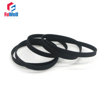 2GT Timing Belt Rubber Toothed Belts GT2-232/240/244/252/260/264/268/280/284/288/294 Closed Loop 6/10mm Width Gear Pulley Belt(China)