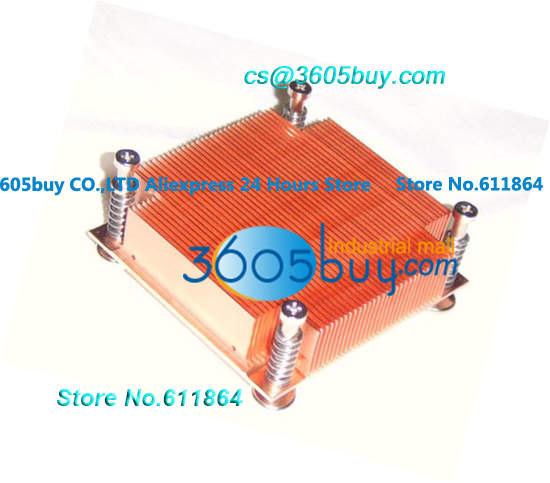 1U server 775 CPU Passive cooling copper cpu cooling conductonaut 1g second liquid metal grease gpu coling reduce the temperature by 20 degrees centigrade