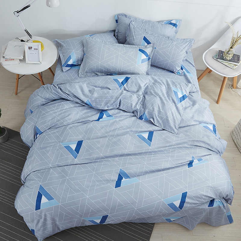 Single Twin Full Double Queen Super King Big Size Duvet Cover Bedding Set Adult Kids Child Soft Bed Linen Comforter Case24