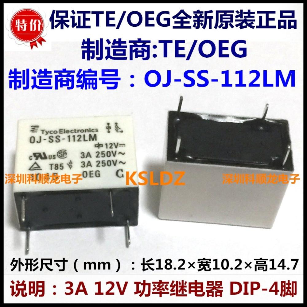 Buy Te Tyco Oeg Oj Ss 112lm 3a250v 4pins 12vdc Relay Wiring Diagram Power Original New From Reliable Suppliers On Ke Shun Long Store