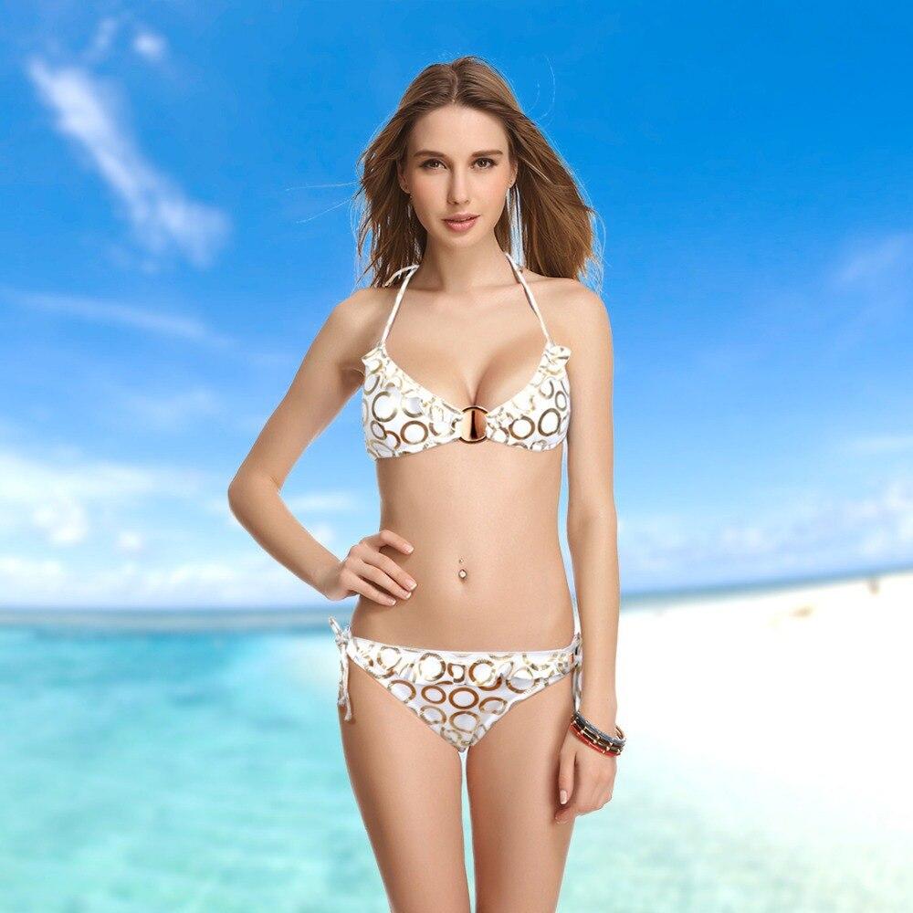 Circle pattern victoria set Swimsuit Soft Cup Triangle Bikini Bra Size 34B  34C 34D 36A 38B 38C 38D Swimwear on Aliexpress.com  8881067bc