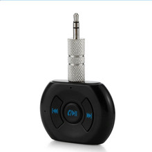 3.5mm Jack Car Wireless Bluetooth 4.0 Audio Music Receiver Adapter wit