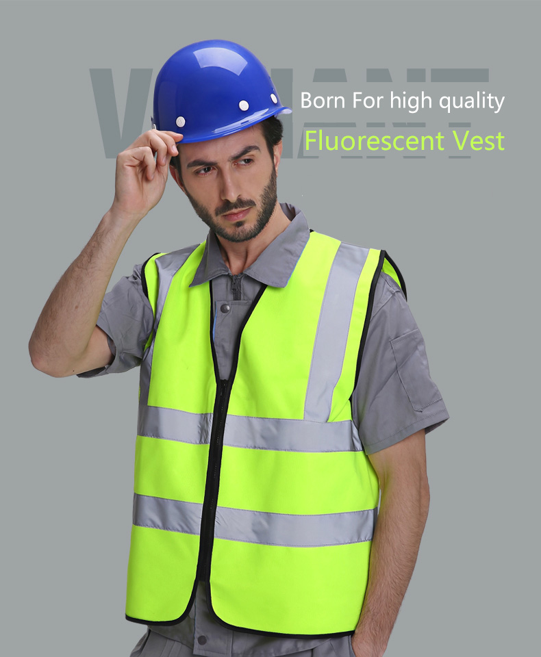 Reflective vest environmental protection greening safety protection clothing vest transportation road project Road construction