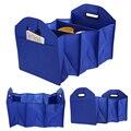 Багажник автомобиля, сумка для хранения Ткань Оксфорд Складной Ящик Для Хранения Грузовик Багажнике автомобиля Tidy Сумка Организатор Хранения Коробка с сумка-холодильник синий