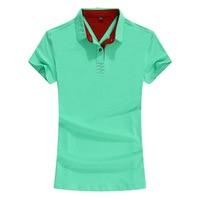 2018 t shirt Tops Male Lapel Short sleeve New Men fashion Button Men's cotton Tees V 963 978