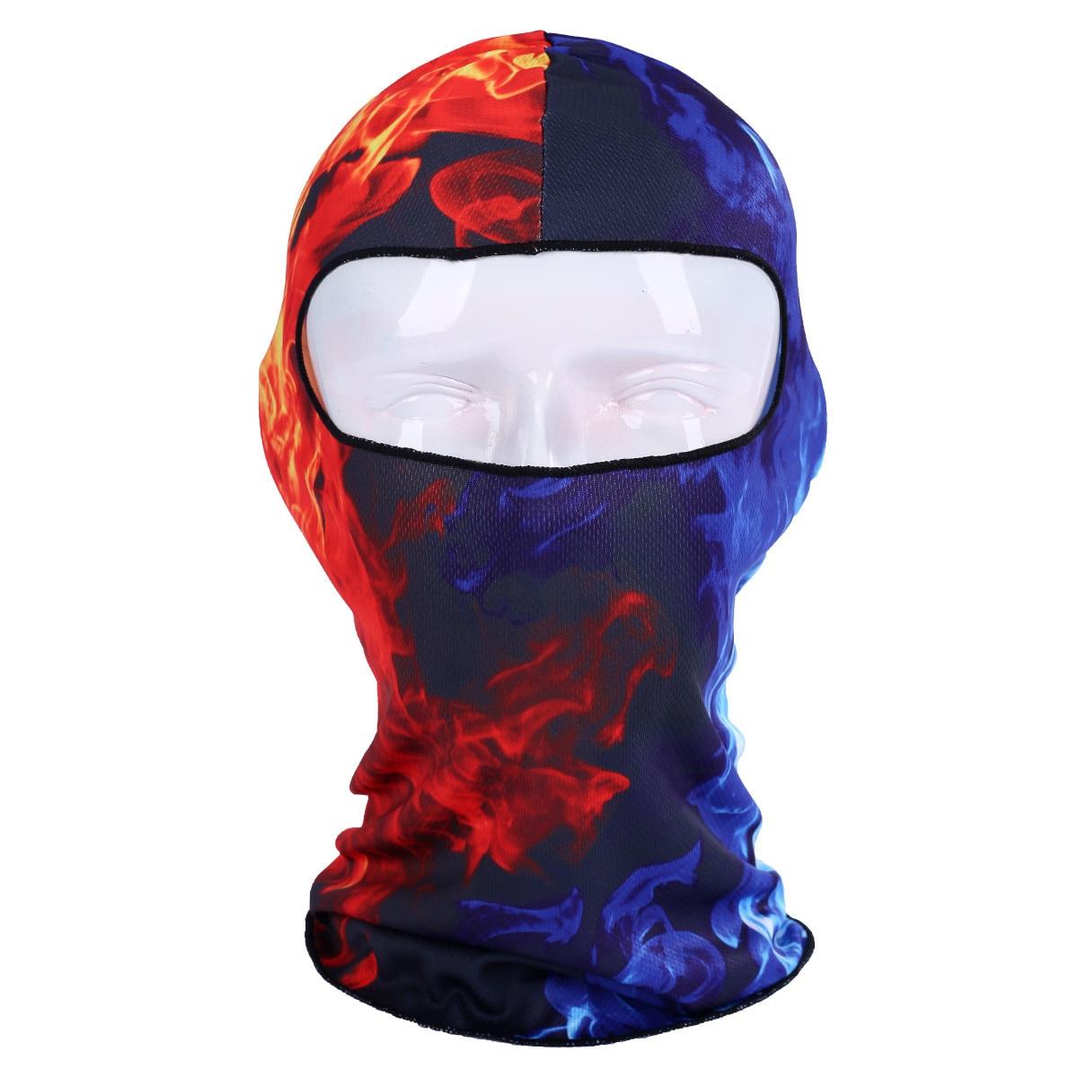 Masque Ski hiver masques faciaux mince 3D extérieur cyclisme Ski cagoule cou capuche Masque complet chapeau bonnet Animal Zimowa maska