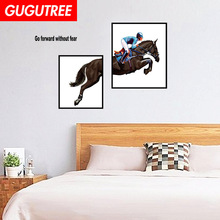 Decorate horse animal cartoon art wall sticker decoration Decals mural painting Removable Decor Wallpaper LF-1764 animal cartoon world removable wall sticker