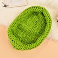 Free shipping Baby cradle photography props Sleeping Bag Newborn photography props Children Costume Crochet Hat 0-12 months
