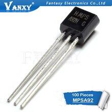 100 шт. MPSA92 TO-92 A92 TO92 триодный транзистор