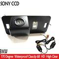 Бесплатная Доставка Беспроводной SONY CCD Вид Сзади Автомобиля Парковка Резервное копирование Комплект КАМЕРЫ для BMW 1/3/5/6 Серии X3 X5 X6 M3 E46 E39 E53 E82 E70