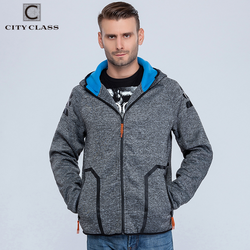 CITY CLASS 2018 Herbst Winter Herren Hoodies von Brand Clothing - Herrenbekleidung - Foto 3