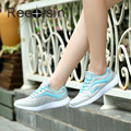 RECOISIN Women Casual Shoes Outdoor Comfortable Sport Shoes Woman Breathable Mesh Sapato Feminino Tenis Designer Flat Mujer 2093