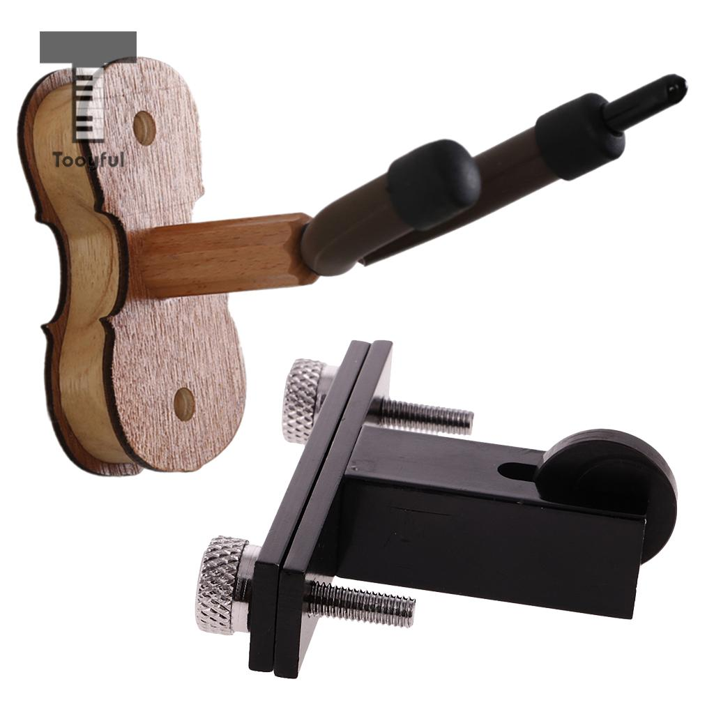 Tooyful Hardwood Wall Mount Hanger Stands Bow Holder with Violin Bridge Machine Redressal Tool for Violin Instrument Accessories no tax cw6121 multifunction wall groove cutting machine wall groove machine wall chaser machine for brick