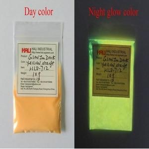 Image 2 - Luminous powder,photoluminescent pigment,fluorescent pigment,glow in dark pigment,1lot=10colors,10gram per color,free shipping.