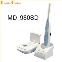 Intra Oral Camera MD 980SD 2.0 Mega Pixels Wireless CMOS Intraoral Camera with Mini SD Card Free Shipping