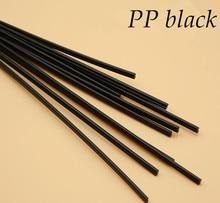 Free shipping 10pcs plastic welding rod PP/PE plastic floor welding rod automobile bumper plastic welding gray black 5mm