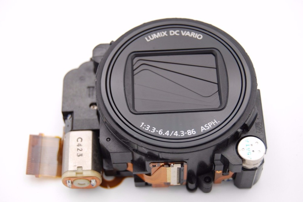 Free shipping ! 95%New  Camera lens unit no CCD For Panasonic TZ35 ZS25 Zoom Lens Unit REPLACEMENT REPAIR PART BLACK new original zoom lens unit with ccd repair parts for olympus xz 2 xz2 digital camera