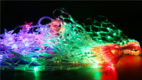 Led cobweb lights christmas day decoration lights Holiday lighting