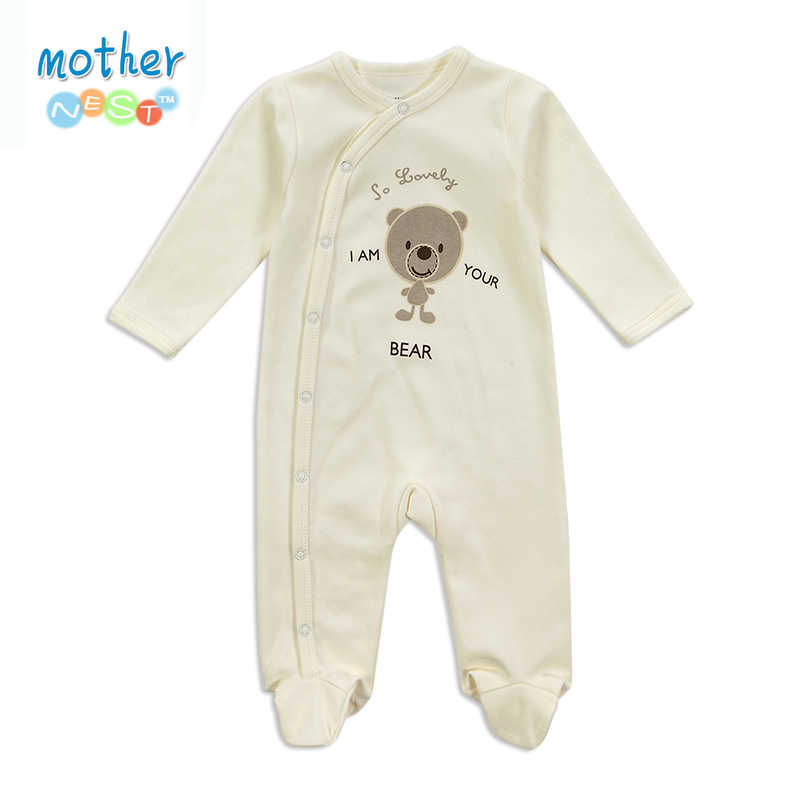 3acee68f7624 Newborn Baby Rompers Baby Clothing Set Fashion Summer Cotton Infant  Jumpsuit Long Sleeve Girl Boys Rompers