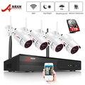 ANRAN, wifi, система безопасности, 4 канала, 1080 P, для дома и улицы, беспроводная, видео камера безопасности, система, легкий пульт дистанционного у...