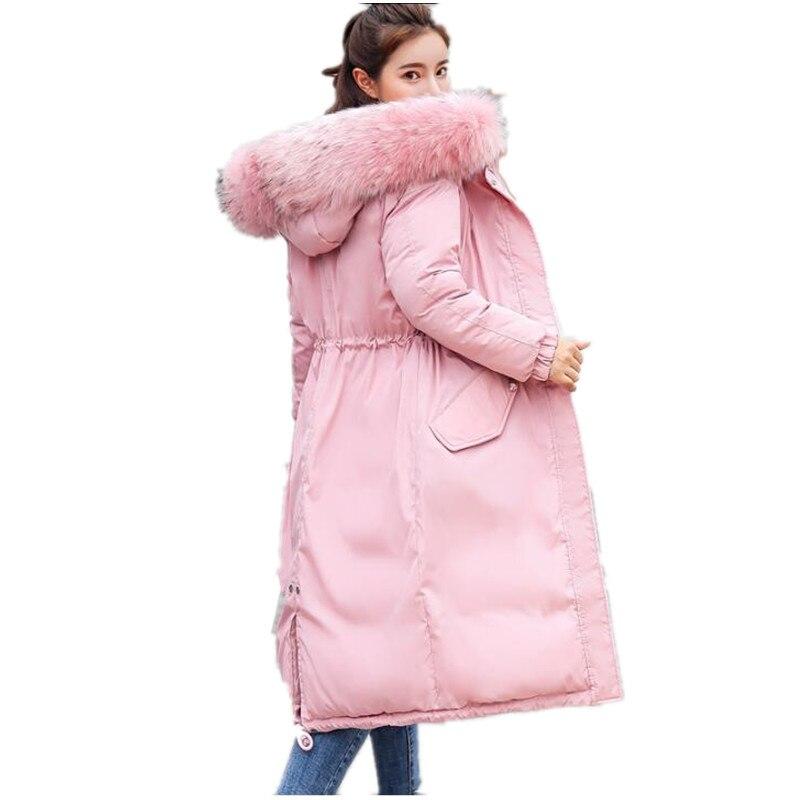 ef582b502eb Winter Jacket Women 2019 New Parka Female Women Winter Coat Thickening  Cotton Outwear Faux Fur ...