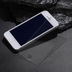 Image 4 - トップ強化ガラススクリーンプロテクター Funda 用 iPhone 11 プロ X XS 最大 XR 8 7 6 6S プラス SE 4 4S 5 5S 5C 10 カバー保護フィルム