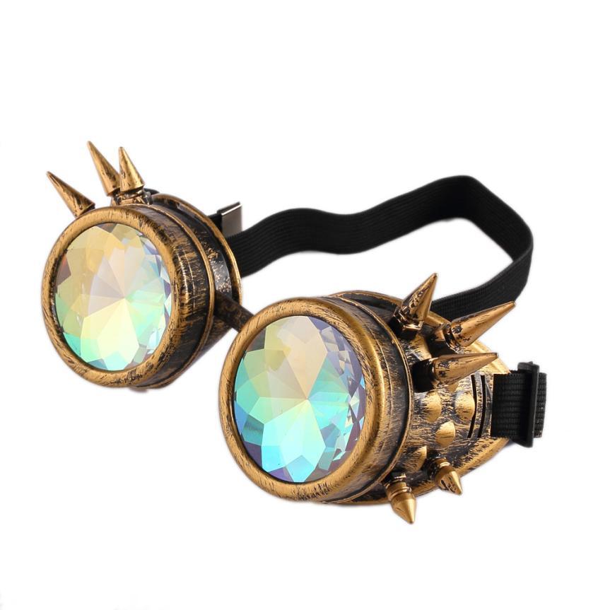 d583d87c91813 Snowsong  5003 Caleidoscópio Colorido Óculos Rave Festival Partido óculos  de Sol Lente Difratado EDM em Óculos de sol de Acessórios de vestuário no  ...