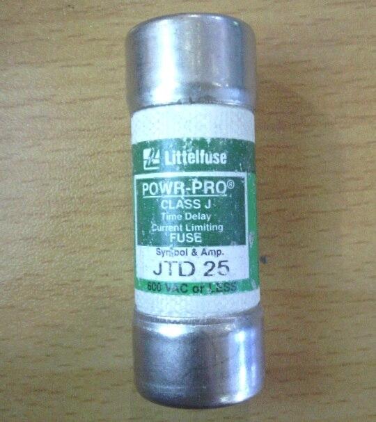 5PCS JTD 25 Littelfuse Netlon CLASS J delay fuse / fuse 25A600V россия шк в ярославле 25 5