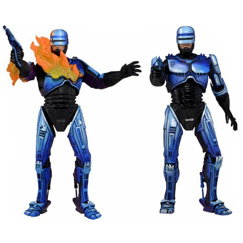 7inches Robocop Action Figure Battle Damaged Ver. Model Toys Collections Children Toys Gift DBP438 robocop action figure 7 battle damaged ver murphy model toys best kids gifts collections