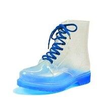 รองเท้าฝน,ผู้หญิงกับรองเท้าบู๊ตสั้นใหม่2016ใสรองเท้ากันน้ำ, MSยางantiskidรองเท้า