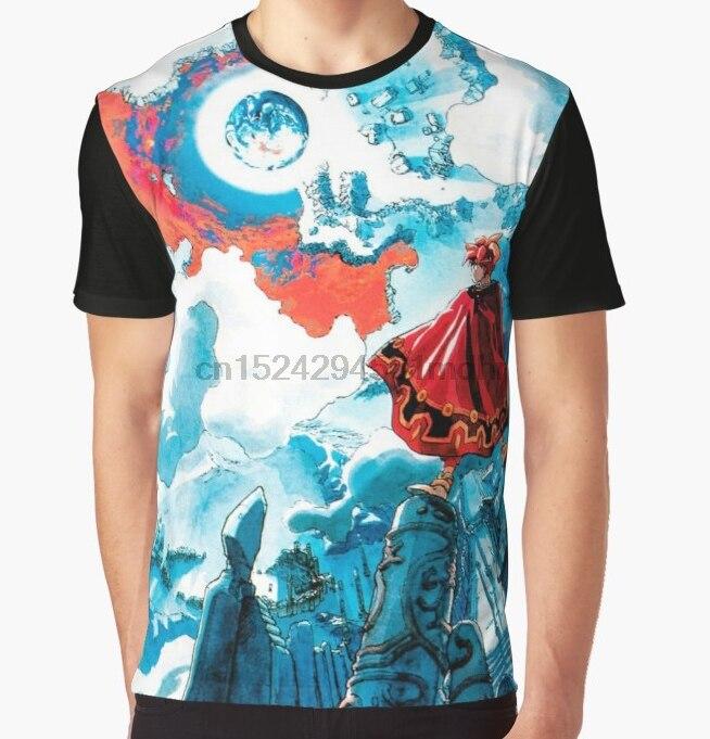 All Over Print T Shirt Men Funy Tshirt Terranigma Short