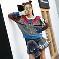 Fashion Sweater New 2016 Autumn Wintter Colorful Long Sleeve Slim High Street Ladies Elegant Knitting Novelty Sweater
