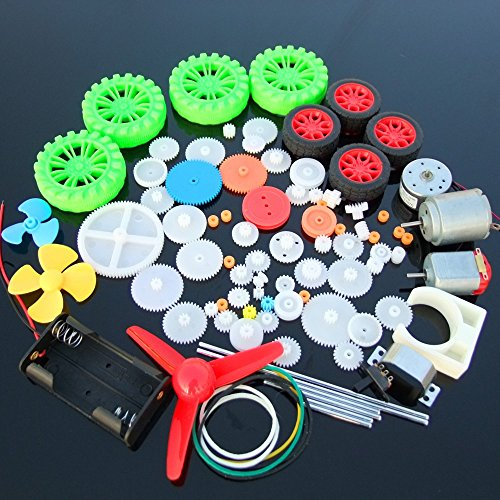 Advanced Motor And Plastic Gear Kit  (Pack Of 90)