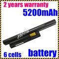 Jigu no cd portátil batería bps22 vgp-bps22 vgp-bpl22 vgp-bps22a vgp-bps22/a batería del ordenador portátil para sony vaio e series