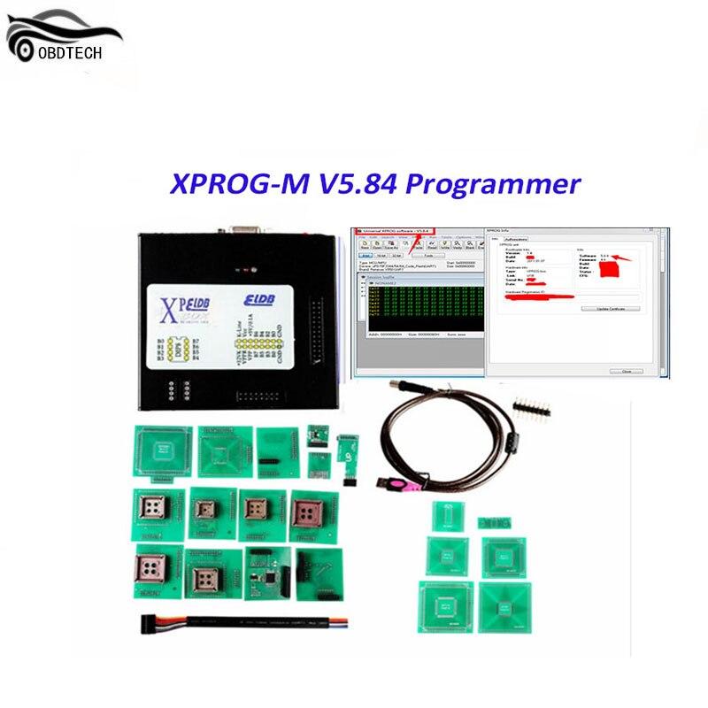 Лучшее качество Xprog 5,84 EEPROM Immo ECU Программист Полный