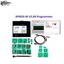 Best Quality Xprog 5.84 EEPROM IMMO ECU Programmer Full Adapters Xprog-m Box V5.8.4 Xprog5.84 Higher Version Than Xprog 5.72