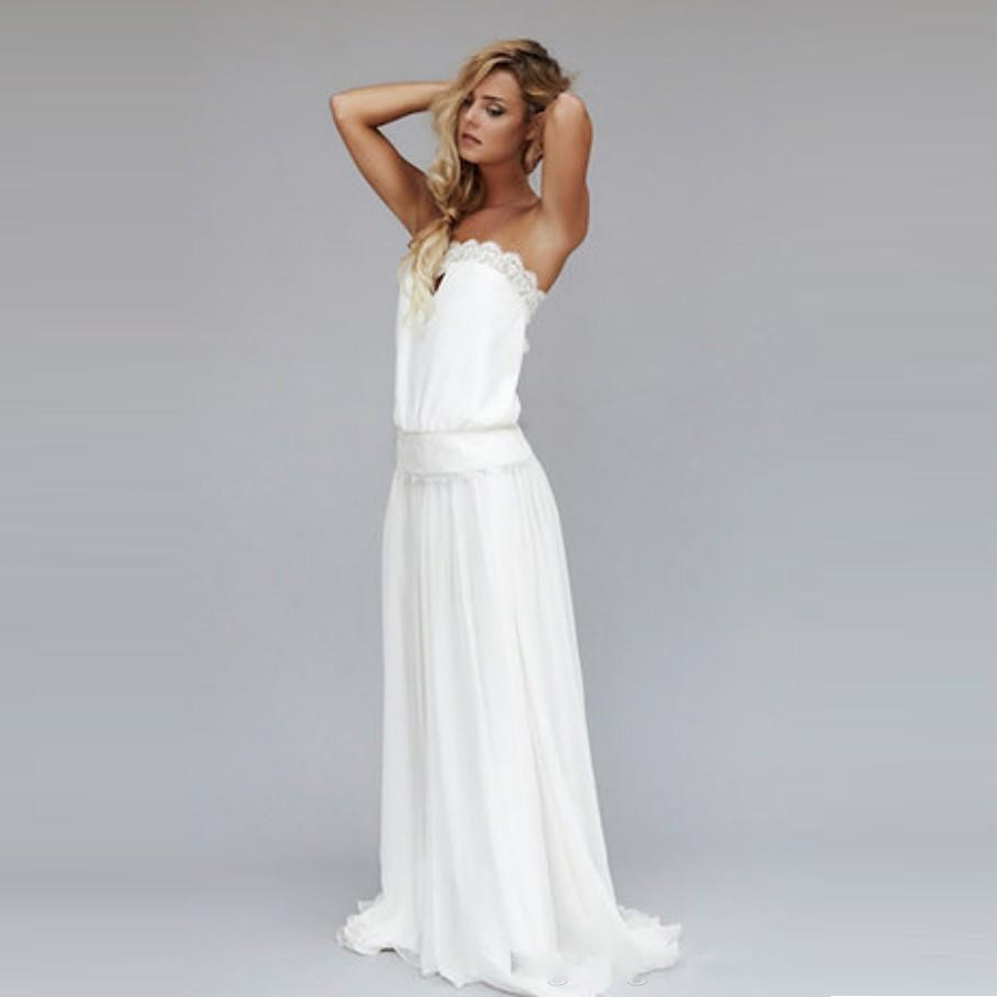Online get cheap drop waist bridal gowns for Vintage wedding dresses for cheap