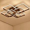 Neue acryl moderne led kronleuchter lichter für wohnzimmer schlafzimmer platz Indoor Weiß avize Kronleuchter Lampe Leuchten-in Kronleuchter aus Licht & Beleuchtung bei