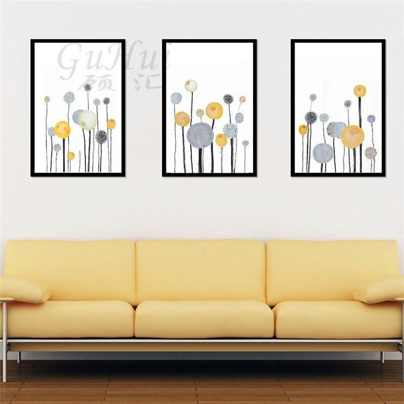 Modern Minimalist Decorative Painting Living Room Sofa Background ...