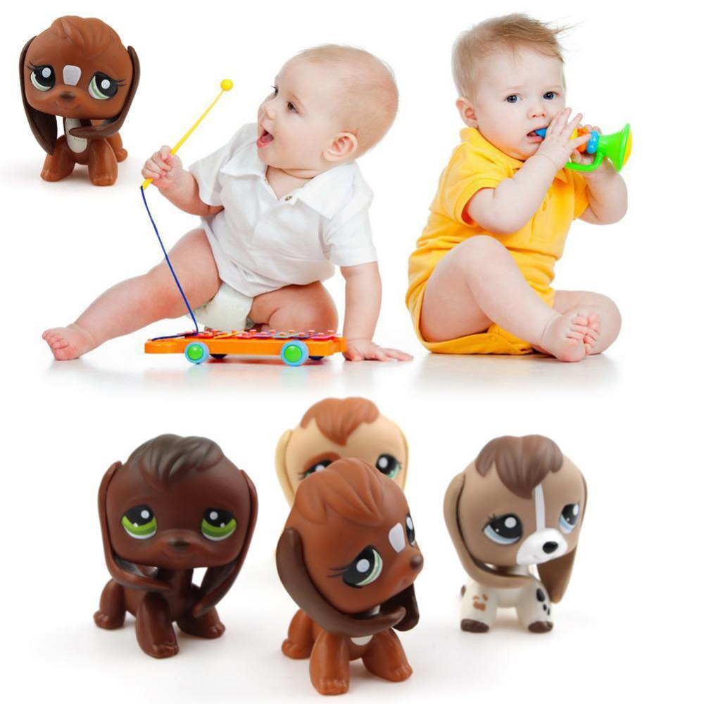 New Lovely Pet Collection LPS Action Figure Toy big ears Dog Kids Gifts Toys kid's Collection Classic Anime Christmas Gift lps new style lps toy bag 32pcs bag little pet shop mini toy animal cat patrulla canina dog action figures kids toys