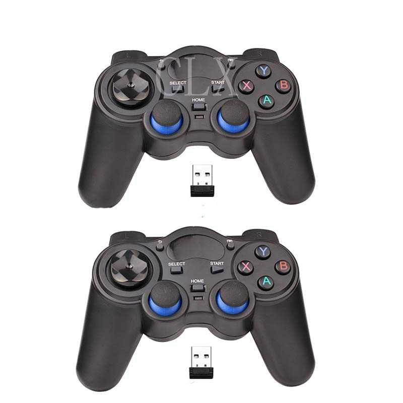 New 2.4GHz Wireless Gamepad Game Controller for PC, Raspberry Pi, RetroPie, Android Smart TV Box, Tablet PC, PS3, NESPi CASE