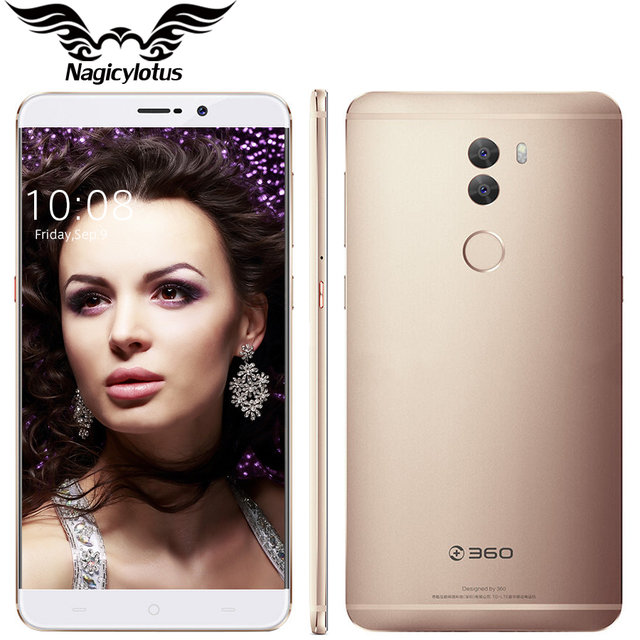 "Original 360 Q5 Plus 6.0"" 4G LTE Snapdragon 820 Quad Core 2.15GHz 4GB RAM 128GB ROM Android 6.0 Fingerprint 13MP Mobile Phone"
