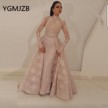 Robe De Soiree 2019 Lace Muslim Evening Dresses Mermaid Long Sleeves High Collar Saudi Arabic Women Formal Prom Party Dress 350mm steering wheel 520mm gear pinion 490mm u joints tie rod assy fit for diy china go golf kart buggy karting utv bike parts