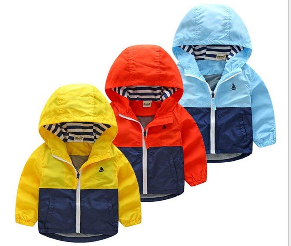Куртка для мальчиков пальто демисезонная ветровка с капюшоном для детей верхняя одежда одежда для малышей «Минни» блейзер для новорожденн...