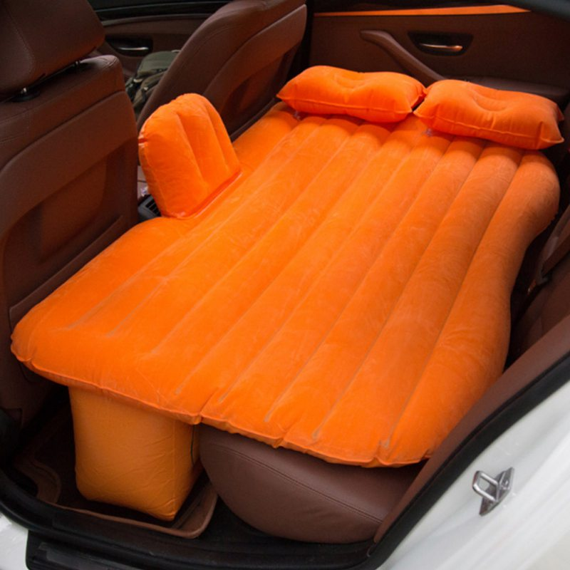 MR MEND ITCar air bed travel inflatable mattress car inflatable bed thickened flocking