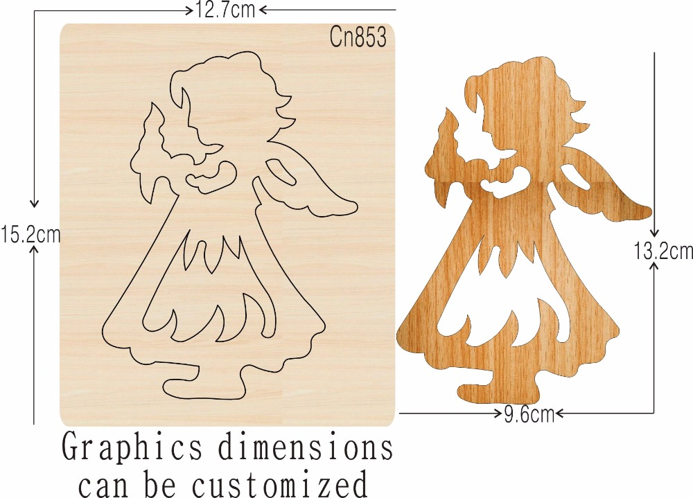 Angel 1 new wooden mould cutting dies for scrapbooking Thickness 15 8mm