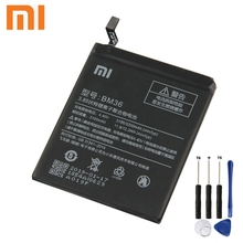 XIAOMI Original Replacement Battery BM36 For Xiaomi Mi 5S MI5S 3200mAh Genuine Phone Batteries